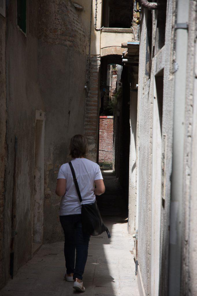 Calle Varisco, la più piccola calle di Venezia